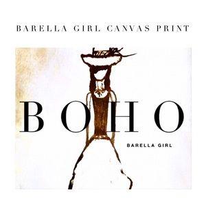 Barella Girl Canvas 10 x 8